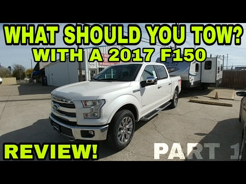 Full 2017 F150 Drive REVIEW and Trailer options