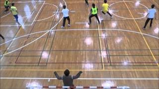 麻布中高ハンドボール部春合宿−4−(2013年3月31日)