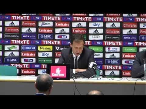 Milan, Allegri: 'Seedorf vuole la mia panchina? Non è l'unico'