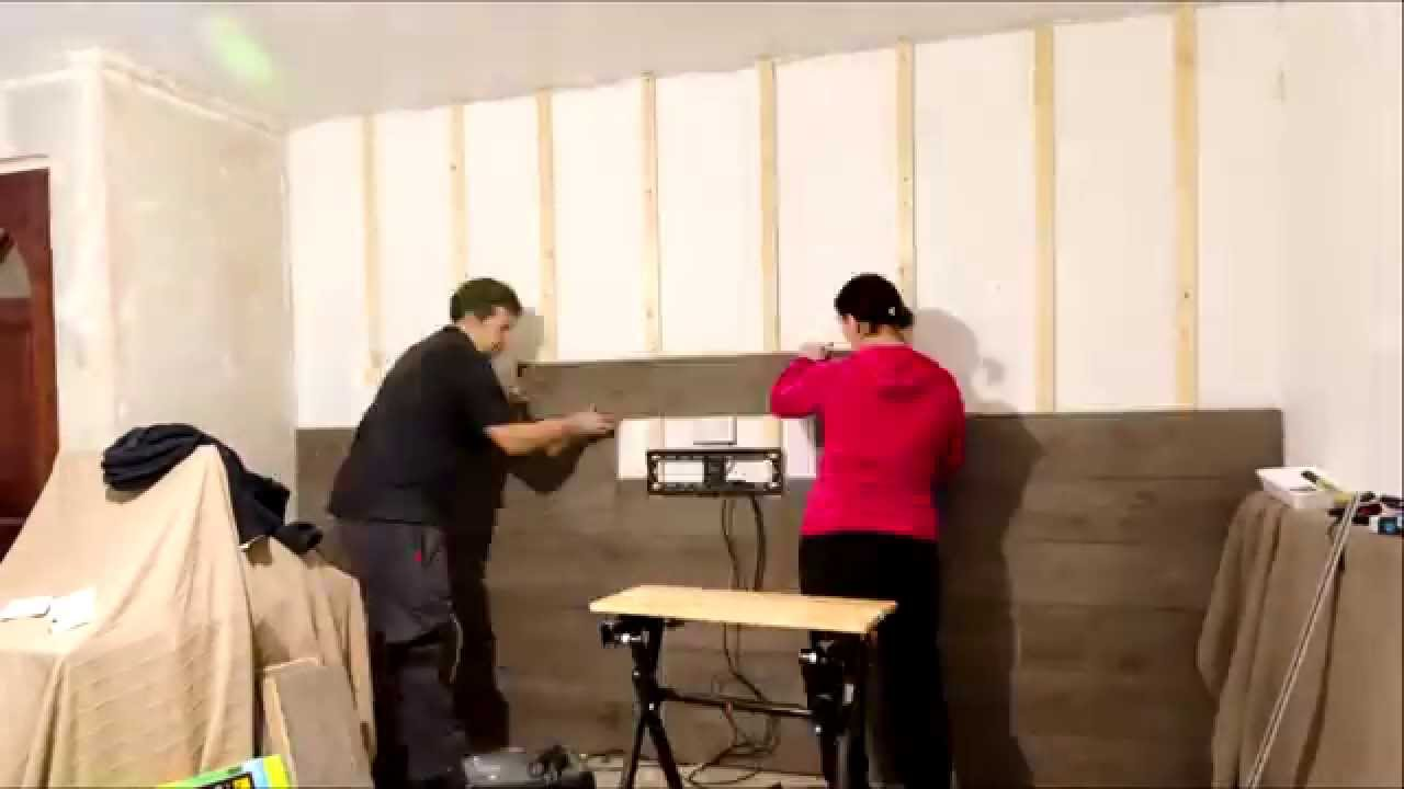 Comlaminate Flooring Walls : Fitting laminate flooring to walls - YouTube