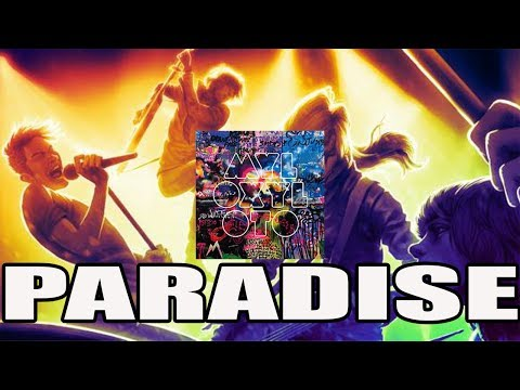 Rock Band 4 ~ Paradise By Coldplay ~ Expert ~ Full Band