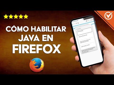 Cómo Habilitar o Activar Java en Firefox Fácilmente