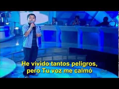 Gabriel Mesquita – O Escudo – Musica Cristiana – Jovens Talentos Kids Raul Gil