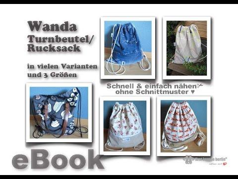 Backpack für jeden Tag! Wanda Turnbeutel Rucksack firstloungeberlin