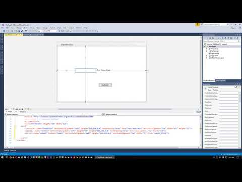 C# Tutorial - Get Text From TextBox And Put In TextBlock (WPF)