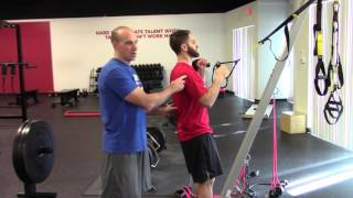 EricCressey.com: 1-arm TRX Row with Offset Kettlebell Hold