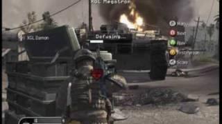World of Clans - Call of Duty 4 S&D Clan Tournament - Match 1: XGL vs XGL Team 1: Map 1 Part 1