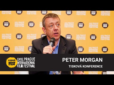Peter Morgan | Tisková konference MFF Praha - Febiofest