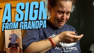 A SIGN FROM ANGRY GRANDPA