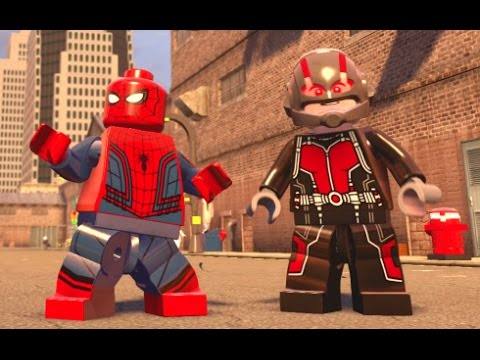 LEGO Marvel's Avengers - All DLC Characters (Free Roam Gameplay)