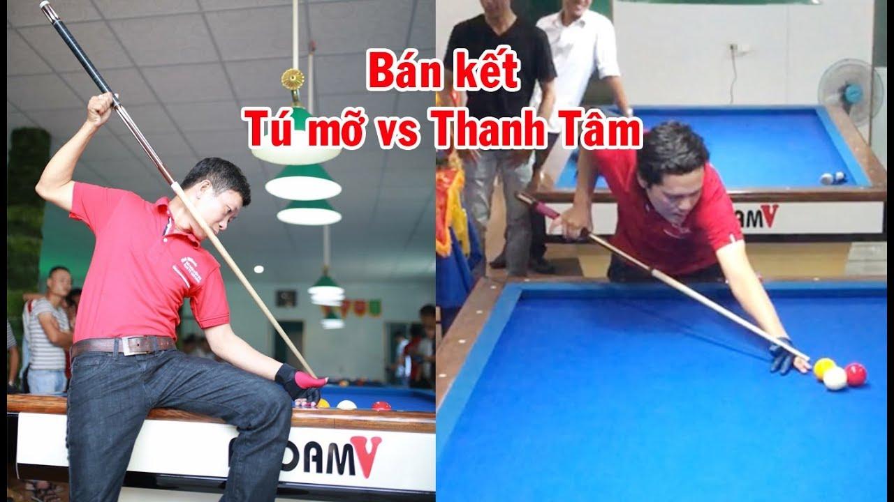 Bán kết – Cơ thủ Hữu Tú (Tú mỡ) vs Thanh Tâm – Carom billiards 당구