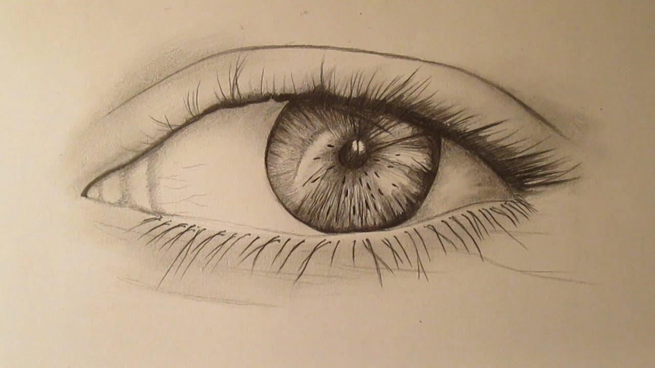 Cómo Dibujar Un Ojo A Lápiz Paso A Paso Aprender A Dibujar Un Ojo