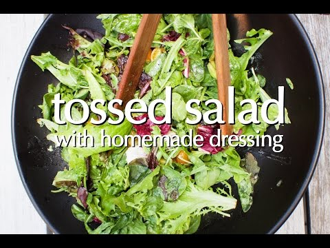 Dinner Party Tonight Shorts: Tossed Salad With Homemade Dressing
