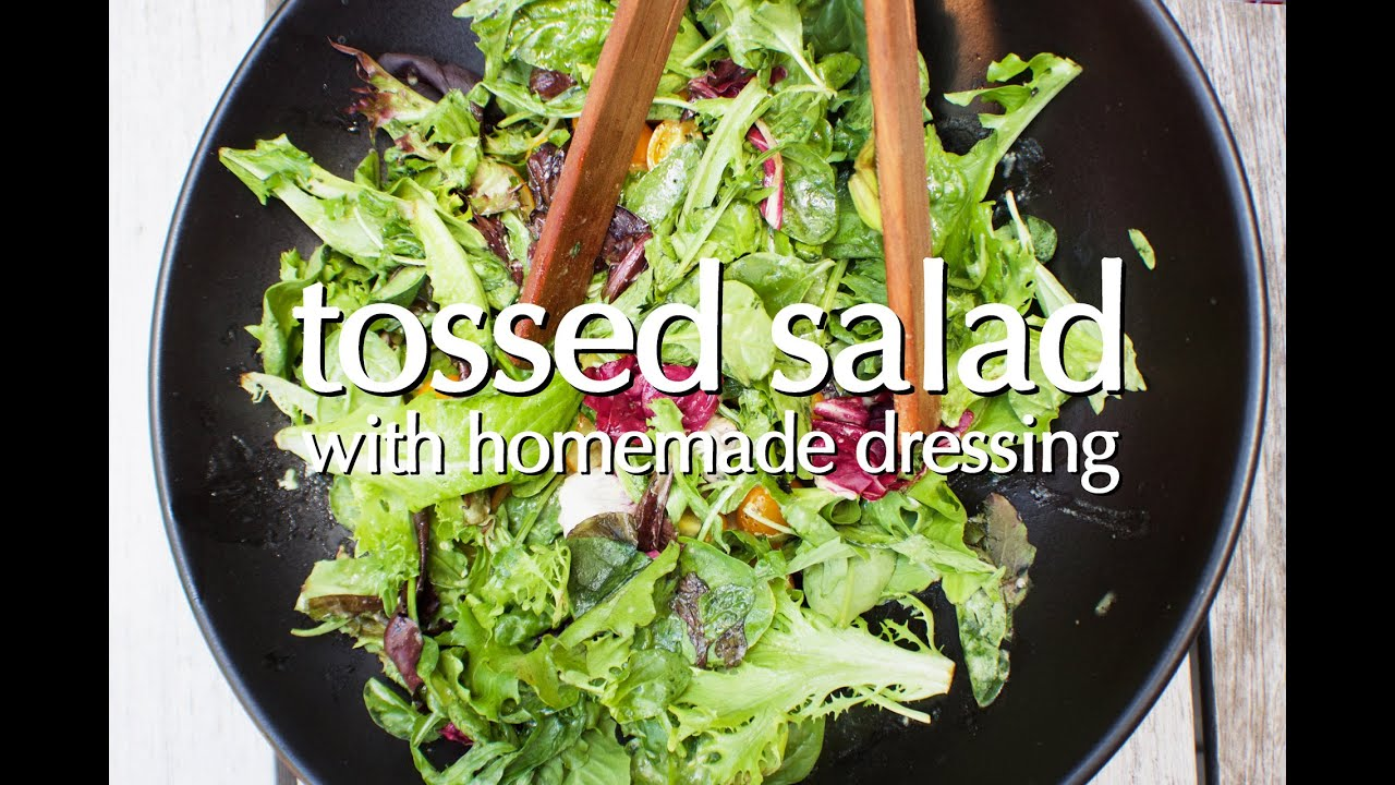 Dinner Party Tonight Shorts Tossed Salad With Homemade Dressing Youtube