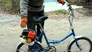 Мотовелосипед (Motorized bicycle)(Все видео по теме мотовелосипед https://www.youtube.com/playlist?list=PL93Adyl8ES4OL_qPs-onsRdMzJA2NUZzw., 2011-11-20T17:10:18.000Z)
