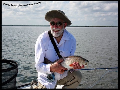 Orlando saltwater fly fishing guide red drum seatrout for Saltwater fishing orlando