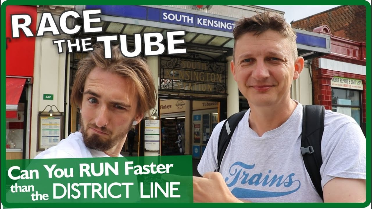 Beat The Tube - Can You Run Faster Than The District Line?