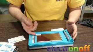 Станок по наклейке защитных пленок для смартфонов REMAX: видео обзор от Electronoff