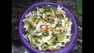 Лёгкий овощной салат ассорти. Рецепт с фото | Həftəbecər turşusu asan resept