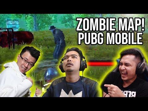 Map Zombie Bareng Mantan Team - PUBG MOBILE INDONESIA