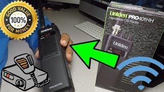Best Range Handheld CB Radio Uniden Pro401HH Review/Test