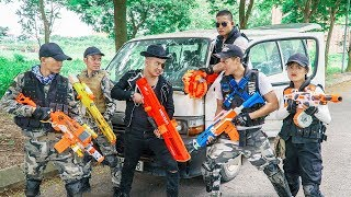 LTT Game Nerf War : Warriors SEAL X Nerf Guns Fight Criminal Group Inhuman SWAT Detachment