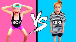 Switching Clothes with my Brother!!!! part 2! SIS VS BRO Style with the Norris Nuts part 2