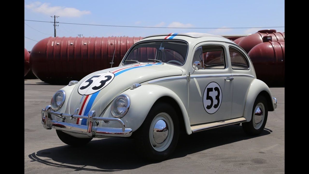 "1963 Volkswagen Beetle ""Herbie"" Drive and Walk Around ..."