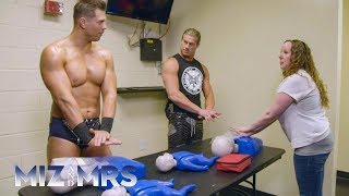 A CPR coach trains The Miz and Dolph Ziggler so The A-Lister can be...