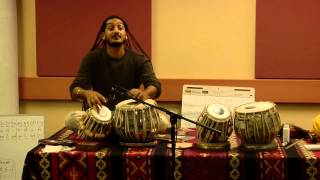 Zakir Hussain Workshop: Session 2 led by Zakir Hussain
