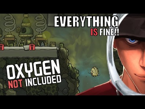 Oxygen Not Included SLIME AND ALGAE FACTORY - May not work | Alpha Gameplay Let's Play