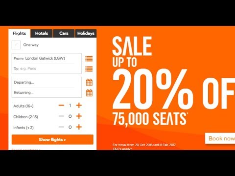 Online Booking From Phone  Tutorial EasyJet