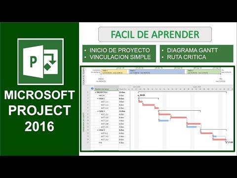 Microsoft Project 2016 - Training
