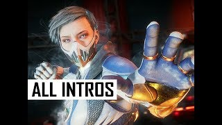 ALL FROST Intro Character Dialogue, Entrances & Victories in Mortal Kombat 11 (MK11