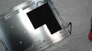 Ремонт монитора DELL 1707FPt Замена ламп подсветки