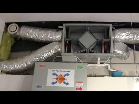 Dom #002: Rekuperator Powietrza (odzysk Ciepła Zimą, Odzysk Zimna Latem)