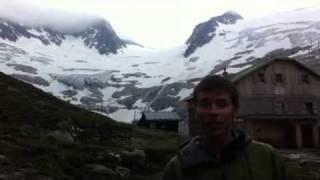 A walk in the alps-austria's huts