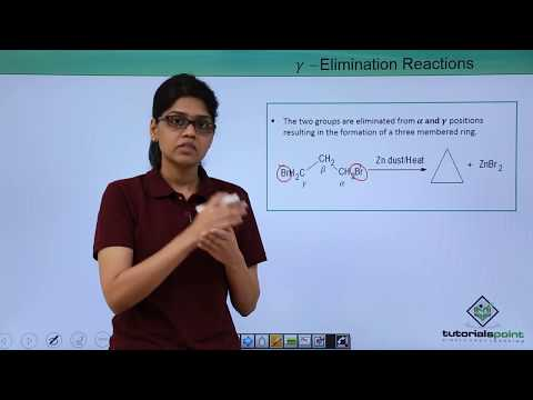 Organic Reactions - Elimination
