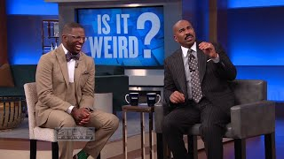 Is it weird that I eat cigarette butts? || STEVE HARVEY