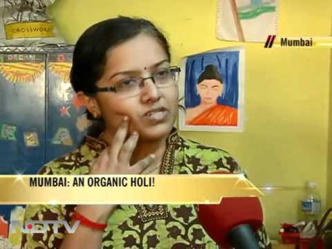 Mumbai: An organic Holi!