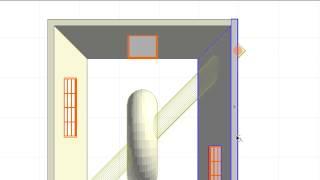 Отображение элементов модели в 3D-документах на основе Плана Этажа