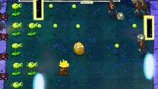 Let's Play Plants Vs Zombies 47 - PORTAL...