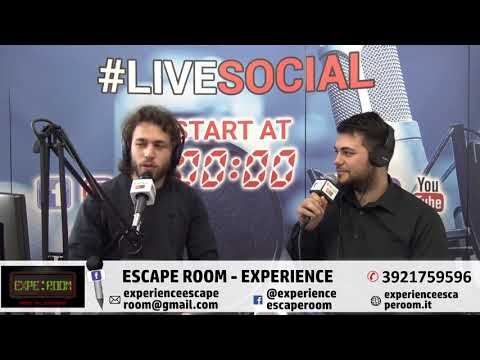 "Intervista Radio By night Roma  ""Experience Escape Room"""