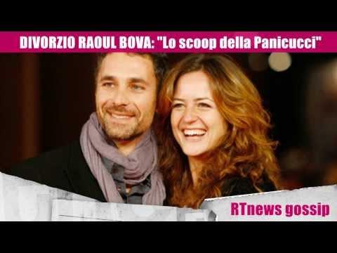 DIVORZIO RAOUL BOVA: lo scoop della Panicucci