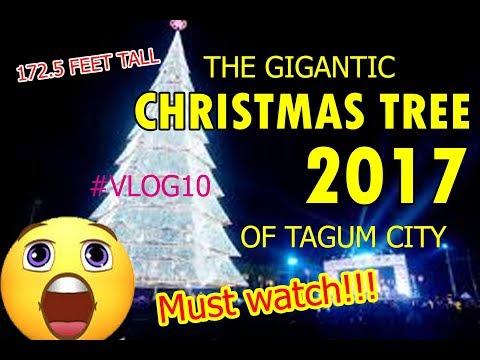 Tagum City Christmas Tree Opening 2017
