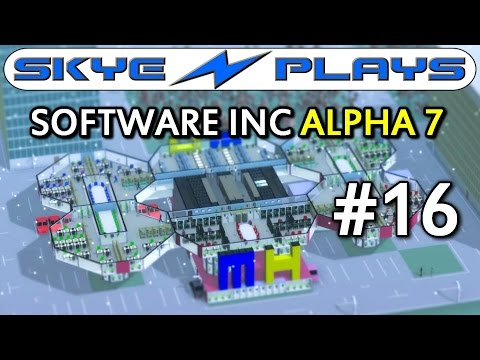 Software Inc Alpha 7 Part 16 ►New Staff!◀ Let's Play/Gameplay