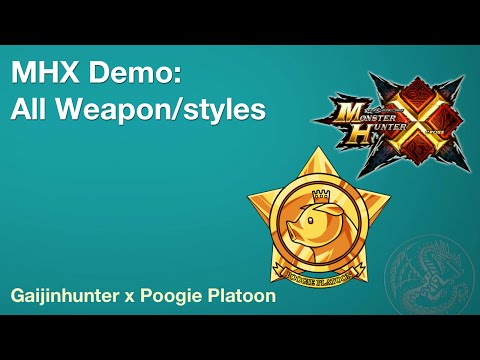 MHX Demo [live]: All Weapons/Most Styles (Timestamp in Desc)