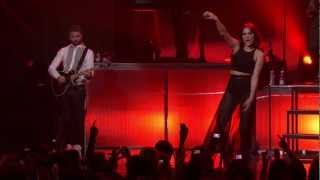 Jessie J - Never too much (Luther Vandross cover) & Abracadabra Live at iTunes Fest 2012