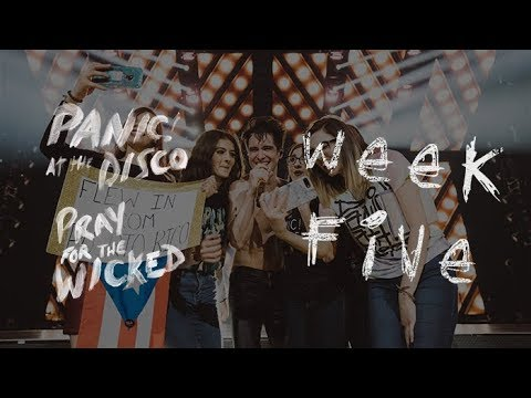 Panic! At The Disco - Pray For The Wicked Winter Tour (Week 5 Recap)