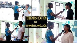 FOREIGNERS REACT : IS TURKISH LANGUAGE EASY OR DIFFICULT TO LEARN?  ????TURKEY  (Subtitled)